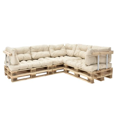 euro pallet sofa 11 x seat back rest cushion pad pillow