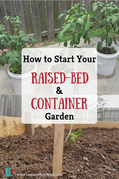 how to start a garden bed how to start your raised bed and container garden texas