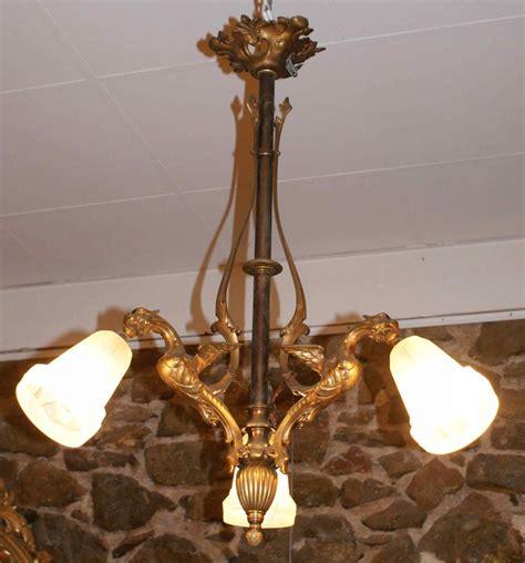 lustre napoleon 3 lustre en bronze avec 3 chim 233 res napol 233 on iii galerie lauretta