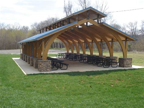 outdoor shelter plans outdoor picnic shelter plans chimney google search