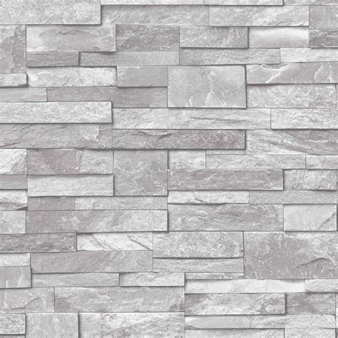 grey wallpaper house ideco home stone grey wallpaper a17202