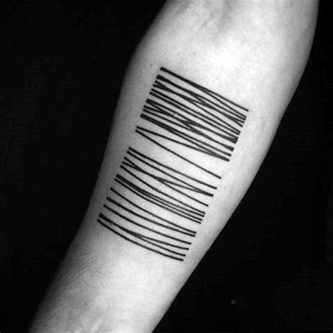 tattoo meaning three lines barcode tattoos lines design for guys tatoo pinterest