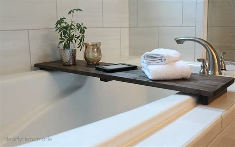 nearly handmade so simple bathtub table