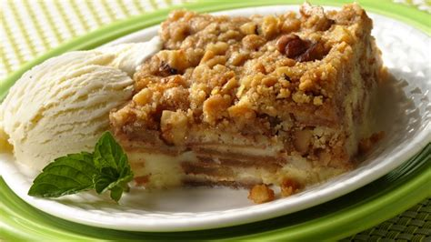 impossibly easy french apple dessert squares recipe from