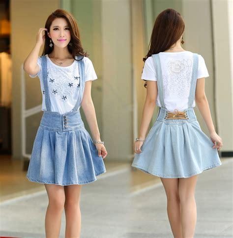 Flowy Pocket Dress Bigsize Jumbo denim skirts promotion shopping for