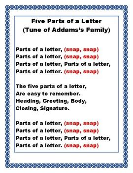 5 Letter Parts