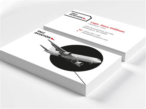 aviation business card template aviation business cards exles choice image card