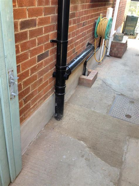 Soil Pipe Plumbing by Outside Drainage Oxford Evolution Design And Build