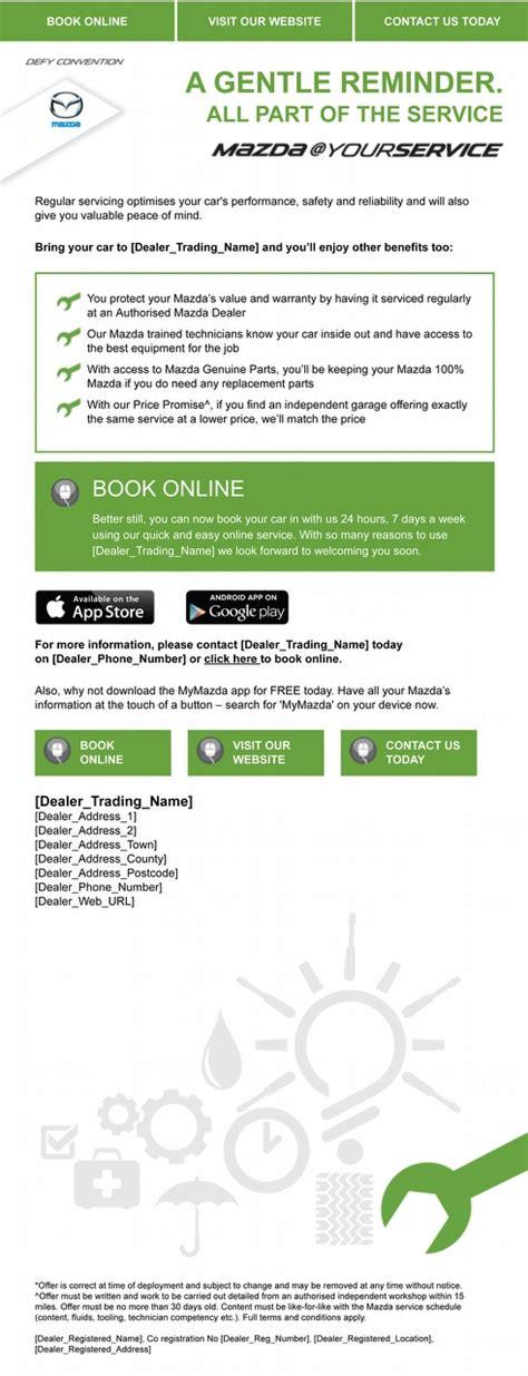 mazda uk customer services mazda s customer database gives dealers competitive edge