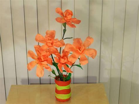 Flower Vase From Plastic Bottle by Creative Diy Crafts Waste Water Bottle Flower Vase