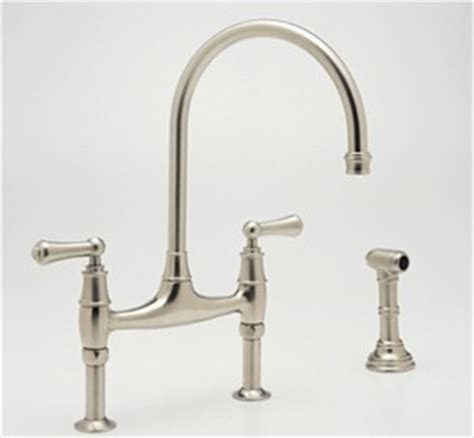 rohl u 4272x perrin and rowe contemporary bridge kitchen perrin and rowe u4718 u4719 kitchen bridge faucet