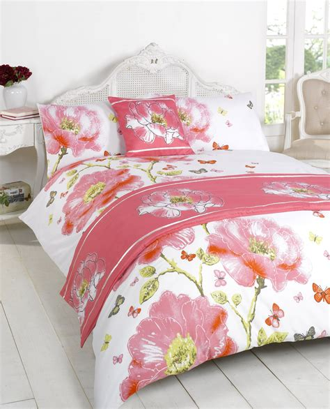 Duvet Quilt Bedding Bed In A Bag Pink Single Double King Single Bed In A Bag Set