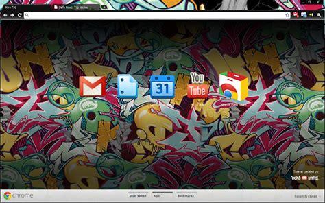 graffiti theme for google chrome marc ecko chrome web store