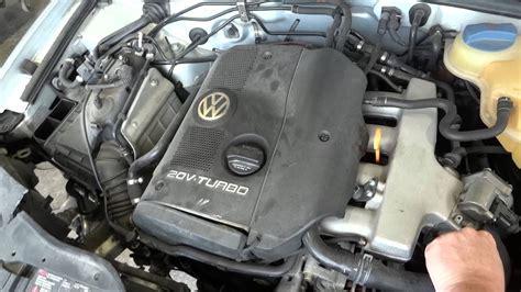 how do cars engines work 2004 volkswagen passat auto manual 1999 volkswagen passat 1 8l engine with 37k miles youtube