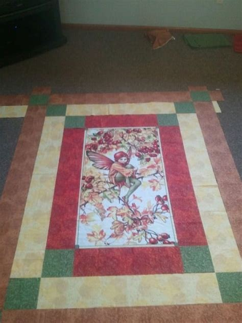 quilt using a panel quilting