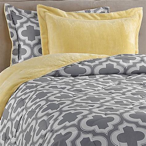 printed down comforter charlie printed reversible plush down alternative