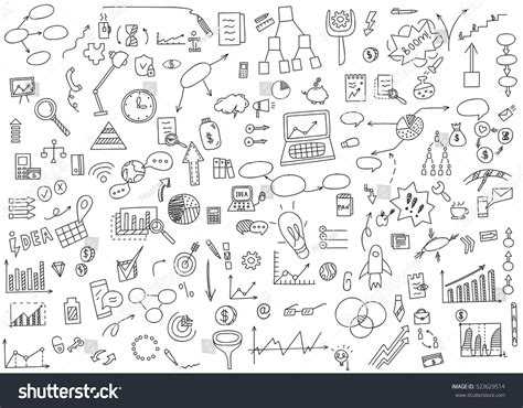 how to create money in doodle draw doodle elements money coin stock vector