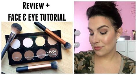review tutorial lipstik nyx highlight contour pro palette review tutorial