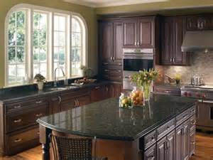 Kitchen Colors With Green Countertops - possibly go dark on cabinets with green granite countertopstunas green granite for kitchen