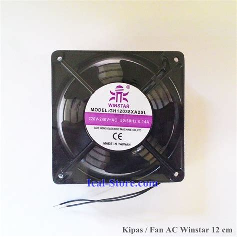 kipas fan ac trohito 12 cm 4 inci taiwan ical store ical store