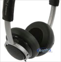 philips fidelio m1 premium on ear headphones stereo headset black