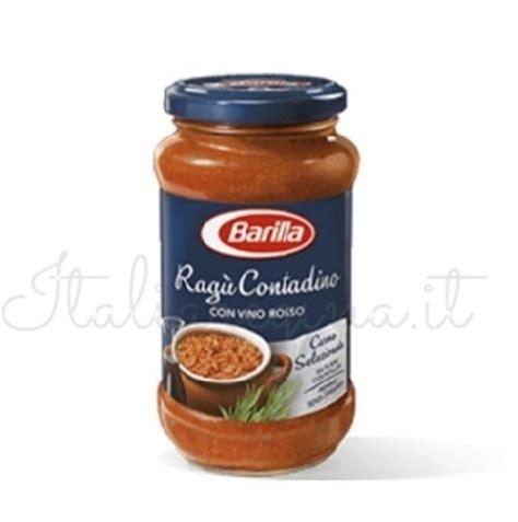 Sure Grow 100 270 Gr italian sauce ragu contadina barilla