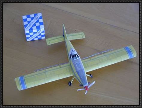 Origami Tractor - air tractor at 502b free aircraft paper model