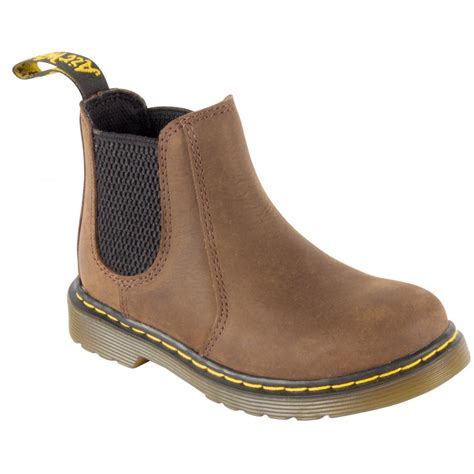 dr martens banzai brown ankle boots 16708201