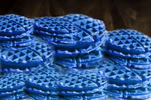 blue colored waffles food you just can t eat social anxiety forum