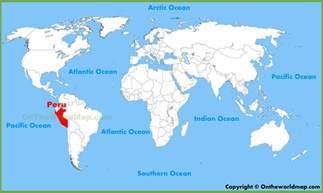 Peru World Map peru location on the world map