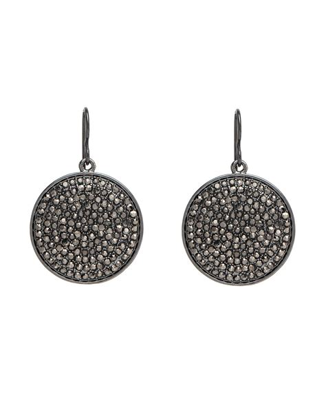 how to make pave jewelry nest jewelry pave disk drop earrings jewelry shak