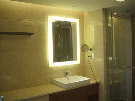back lit bathroom mirror backlit bathroom mirrors