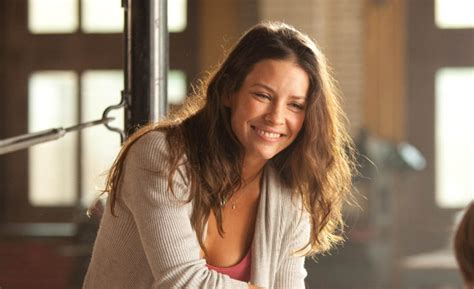 Real Steel: Evangeline Lilly   CC Food Travel