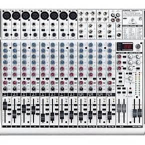Mixer Behringer Xenyx 2222fx behringer eurorack ub2222fx pro mixer musician s friend