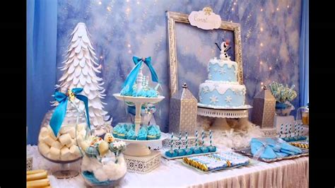 Creative Winter Wonderland  Ee  Birthday Ee   Party Youtube