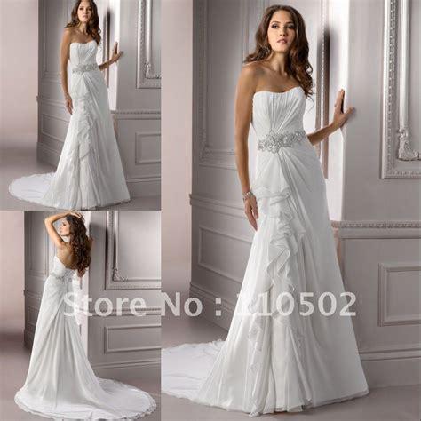 pattern dress for wedding fabulous chiffon beaded strapless wedding dress pattern