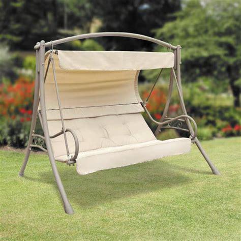 luxor swing seat suntime seville garden swing
