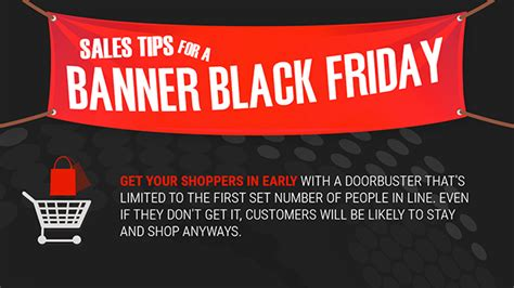 Black Friday Auto Deals Mn Infographic Small Business Sales Tips For A Banner Black