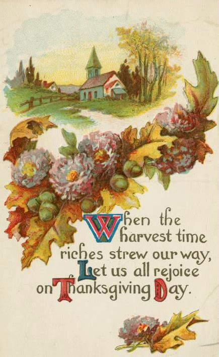 printable vintage thanksgiving cards public domain images free vintage illustrations