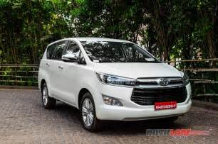 Toyota Innova Prize Which Toyota Innova Crysta Variant Will Suit You Best
