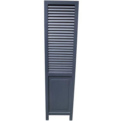 louvre shutters houten louvre shutter donkergrijs 170x42 woontante