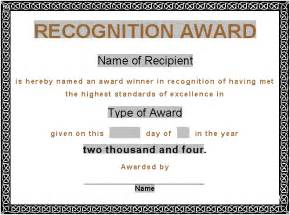 Printable Award Certificate Templates by Award Certificates Award Certificate Gift Certificate