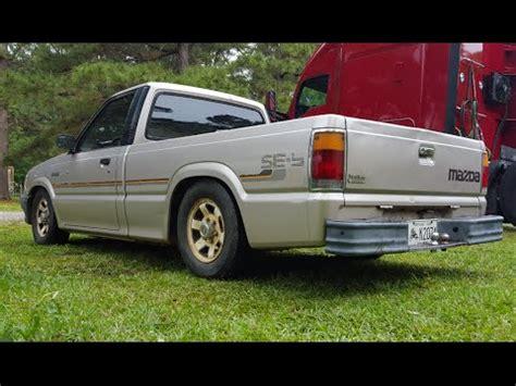 1988 mazda b2200 walk around of my lowered 1988 mazda b2200