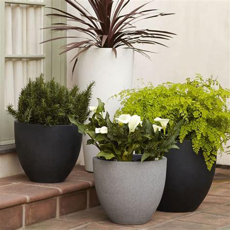 modern plant pots 10 easy pieces lightweight planters gardenista