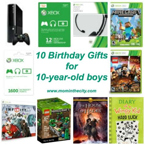 10 birthday gifts for 10 year old boys mom in the city
