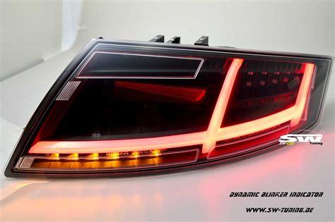 Audi Tt 8j Led Rückleuchten by Sw Celi Voll Led R 252 Ckleuchten F 252 R Audi Tt Typ 8j Black