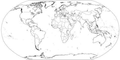 coloring page of map of the world map of the world for kids coloring pages many interesting