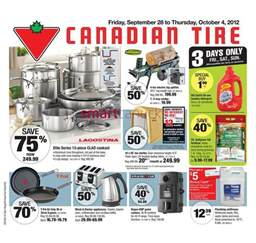 Canadian Tire Trail Flyer Canadian Tire Flyer Sep 28 Oct 4 Canadian Tire Flyers