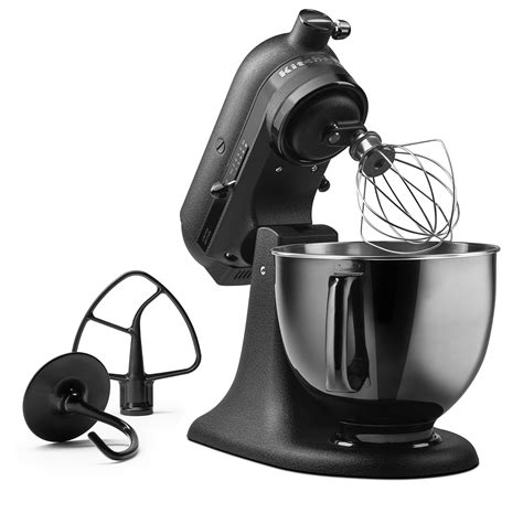 all black kitchenaid mixer kitchenaid introduces limited edition artisan black tie stand mixer