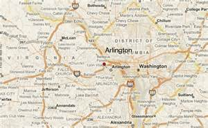 arlington map arlington virginia location guide